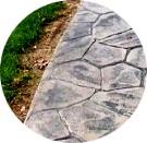Pavaje din beton ampretant