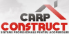CARP CONSTRUCT - acoperisuri si tigle metalice - tabla acoperis - sisteme pluviale