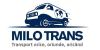 MILO TRANS  - Transport marfă oriunde - orice - oricând!