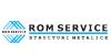 ROM SERVICE - Proiectare, fabricare și montaj structuri metalice - Construcții metalice la cheie