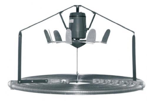 HIGH TEMP NIVOLAIR V3 -  o combinatie dintre un sistem de incalzire si un ventilator cu elice
