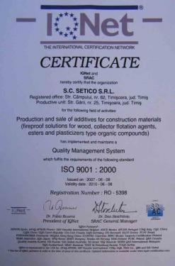 Certificare in constructii