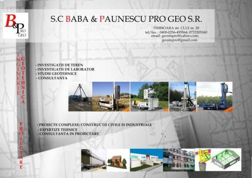 Baba & Paunescu Proiectare