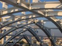 Constructii pe structuri metalice