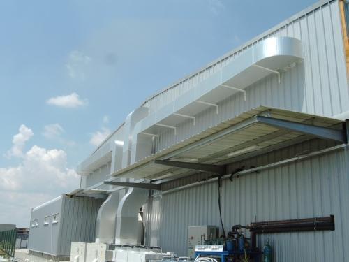 Instalatii tip Rooftop si tubulaturi termoizolante