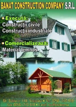 Constructii civile si industriale Timisoara
