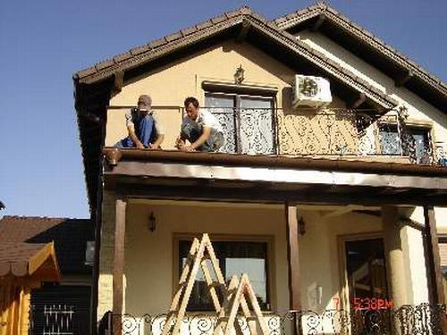 Montaj acoperis casa particulara