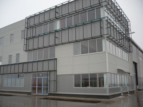Scholz Recycling Timisoara structura secundara si invelitoare, casete metalice