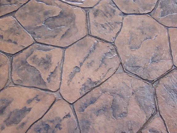 Pardoseli din beton amprentat