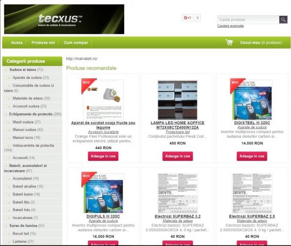 Magazin Online (www.tecxus.shopmania.biz)