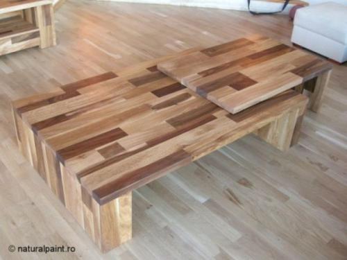 Mobilier din lemn masiv Timisoara