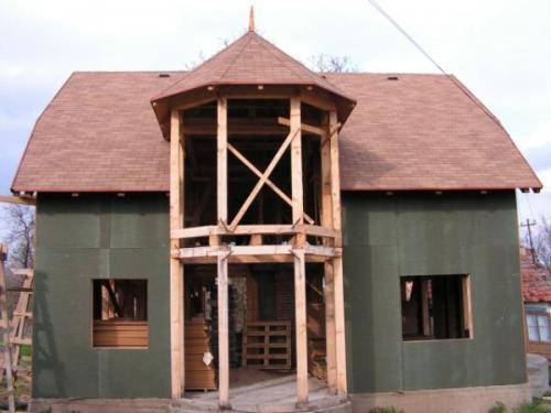 Casa pe structura de lemn Timisoara