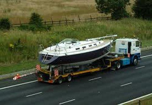 Transport barci