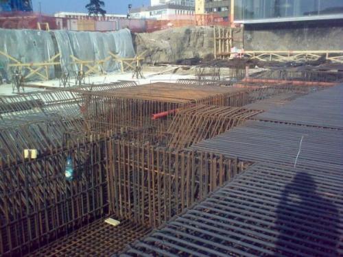 Montarea armaturilor fier beton