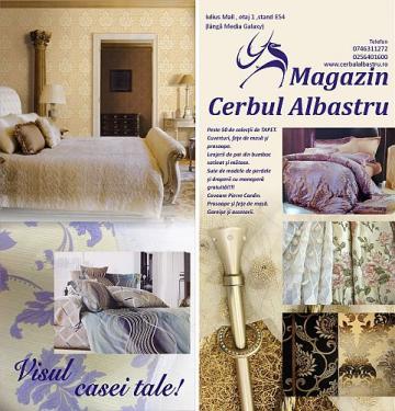 Magazinele Cerbul Albastru - Produse textile pentru casa