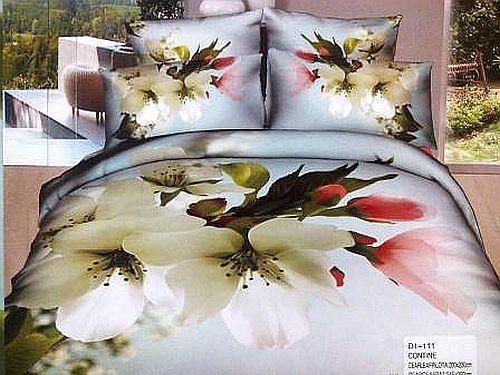 Lenjerie de pat cu flori de mar