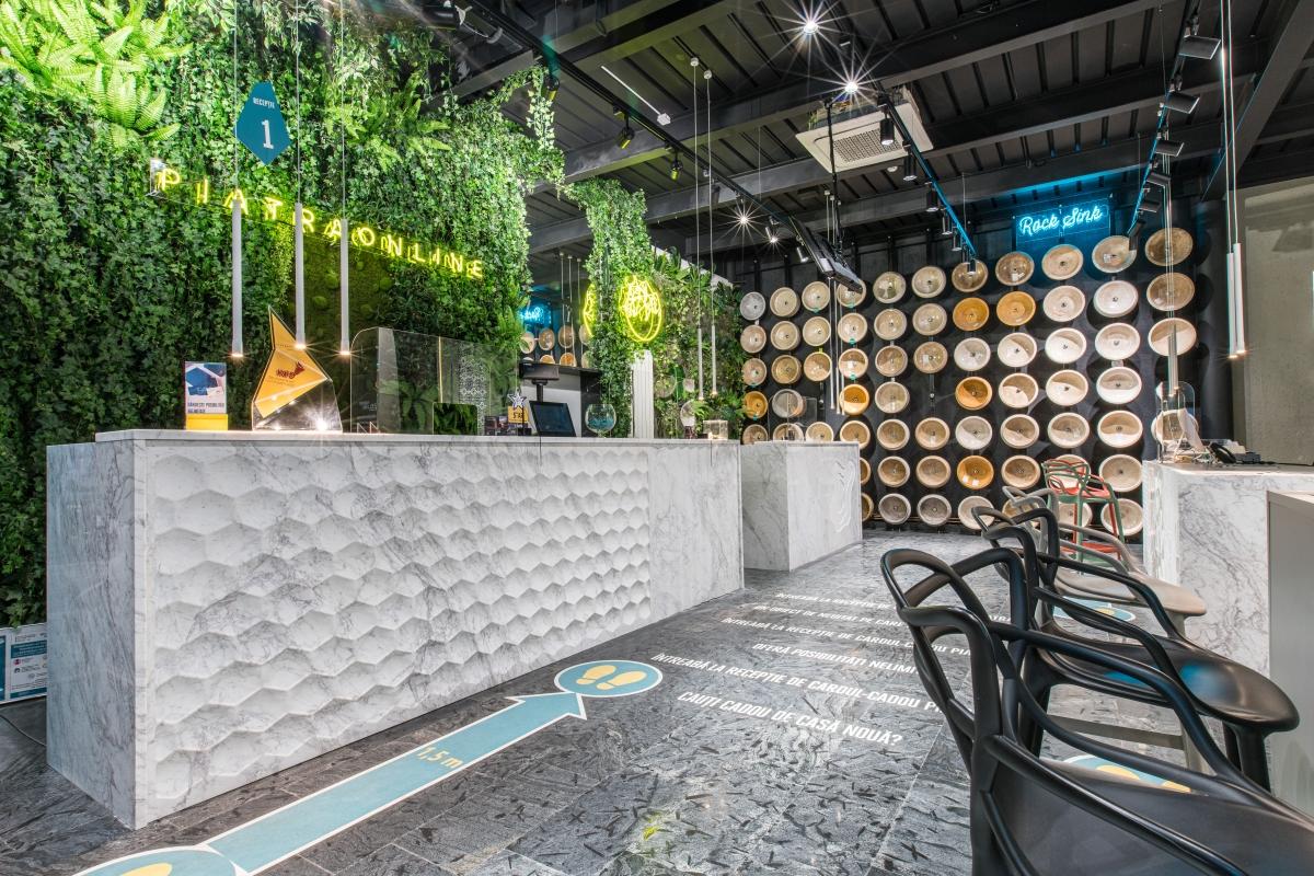 Piatra decorativa perete interior