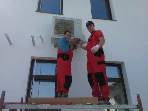 Montaj instalatii climatizare