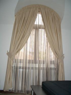 Amenajare fereastra in arcada