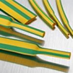Tuburi termocontractibile galben-verde