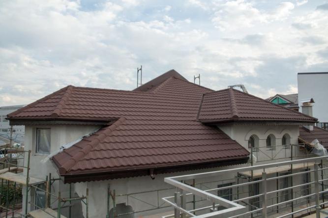 Tigla Decra Classic Mocha acoperis locuinta Bucuresti