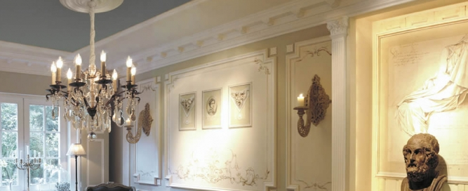 Profile decorative de interior