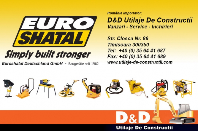 Utilaje si echipamente EuroShatal