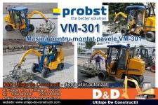 Masina pentru montat pavele Probst