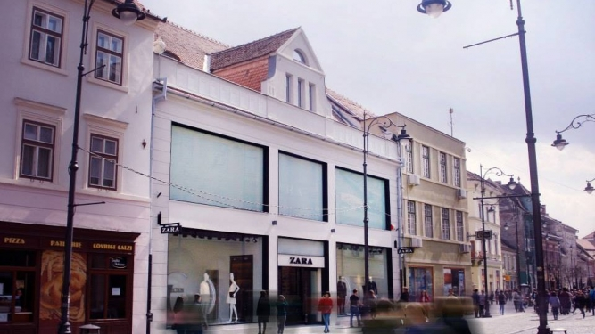 Magazin Zara Sibiu