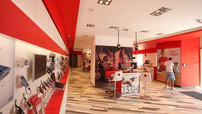 Redesign magazine reteaua Vodafone