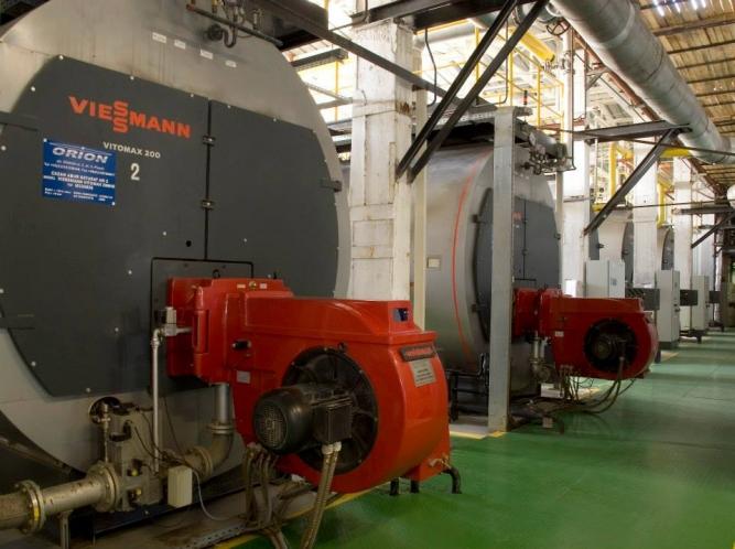Vitomax 200 HS - cazan industrial de abur de medie presiune
