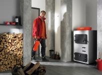 Vitoligno 100-S - cazan pe lemne cu gazeificare