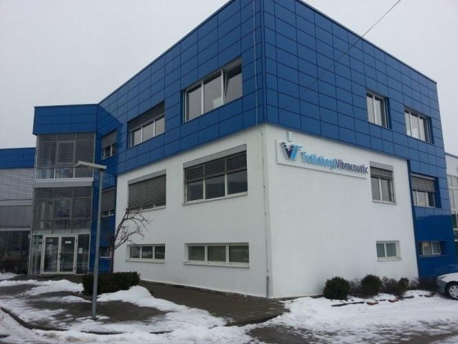 Extindere fabrică Telleborg Dej