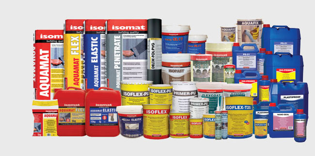 Isomat - Materiale hidroizolante