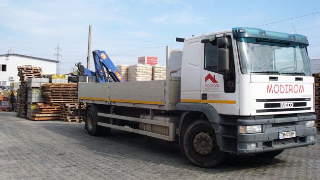 Transport materiale de construcții