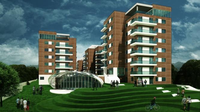 Proiectare instalații complex rezidențial str. Fabrica de cărămidă