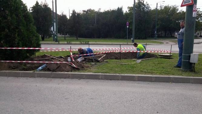 Excavații pentru îngropare cabluri