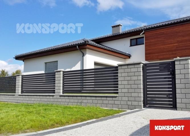 Garduri și porți rezidențiale Konsport - model P82