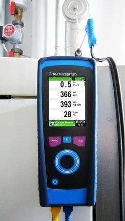Analizor gaze de ardere Multilyzer STe