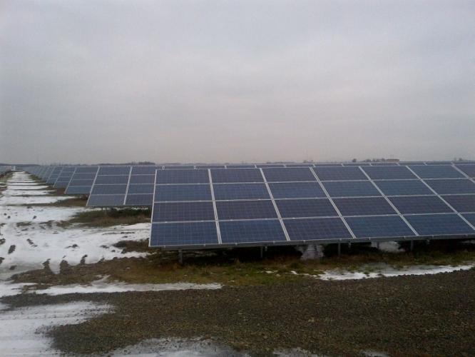Parc fotovoltaic de 48 MW Ciuperceni