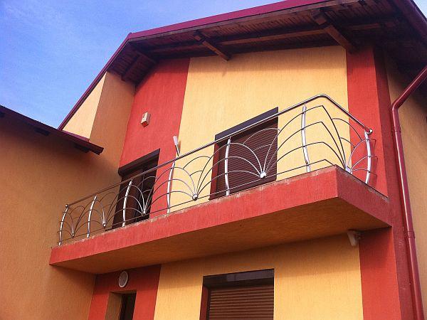 Balustrada ornamentala inox