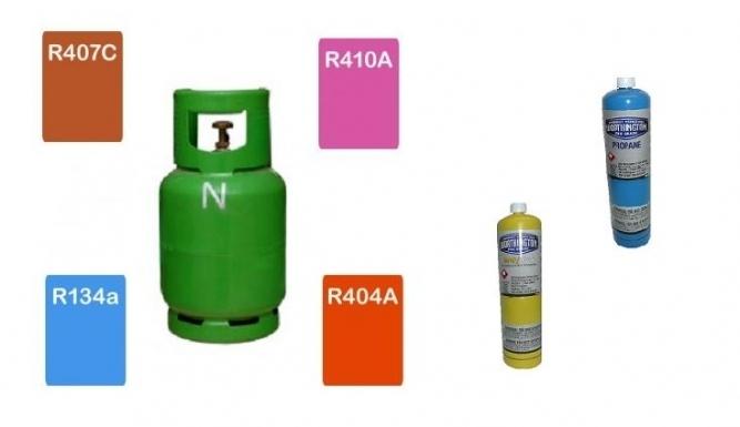 Refrigeranți și gaze speciale