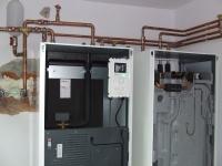 Instalatie pompa de caldura Nibe