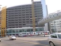 Parking Pieptănari - pasarelă legătură City Mall