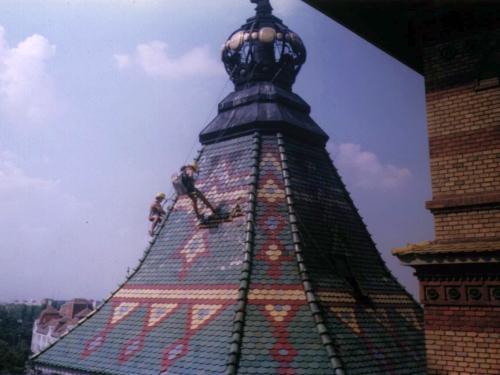 Montaj acoperis din tabla