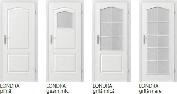 Uși interioare Londra
