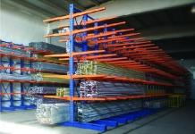 Rafturi cantilever pentru depozitare produse lungi