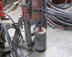 Perforare beton