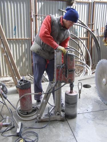 Carotare beton armat  - carotare beton