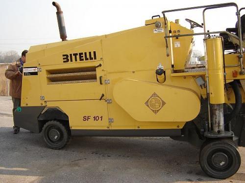 Freză de asfalt Bitelli SF 101 R